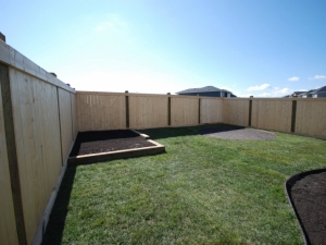 If you are looking to construct a fence that is a little less expensive, you can consider utilizing Pressure Treated Fence Posts & Spruce Fence Boards