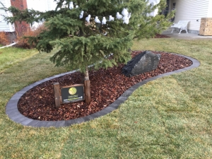 """Another look at the """"Paver Soldier Course"""" at our """"Brookview"""" landscape revitalization project"""