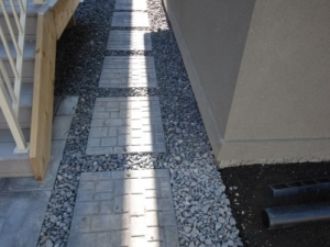 """Pre-Cast Paving Slabs provide an """"economical"""" alternative to gain access from one area off the yard to another. They come in a variety of sizes and colours and there are a number of patterns and finishes to choose from"""