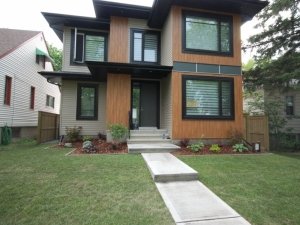 """One of many """"Allendale"""" (infill) landscaping projects"""