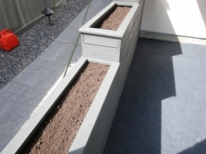 """Another look at the custom built """"Tiered Planter"""""""