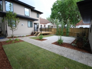 """Another look at the back yard of one of our """"Allendale"""" (infill) landscaping projects"""
