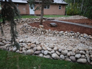 """Another look at the """"Dry River Bed"""" at our Hastings Lake project"""