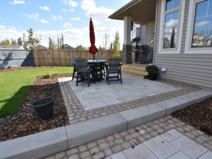 Tow-Tiered Patio