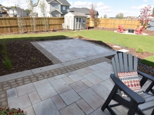 The Hamptons Two-Tiered Patio