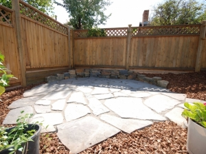 Natural Stone (Rundle) Flagstone Patio