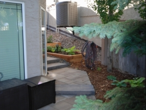 "Another view of our ""Hodgson"" landscape revitalization project"