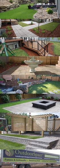 edmonton landscaping services - landscaping examples